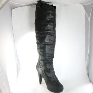 Report Shoes - REPORT 'Cricket' Distressed Leather Pull-Up Boots
